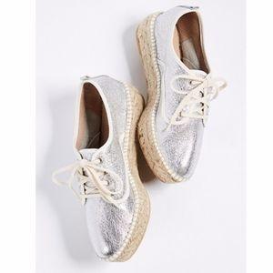 Loeffler Randall Alfie Espadrille Sneakers Flats